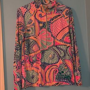 Lilly Pulitzer Multi Wave Tile Popover
